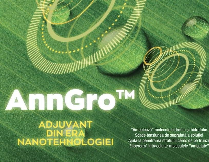 AnnGro - stimuleaza procesele biologice ale plantelor!