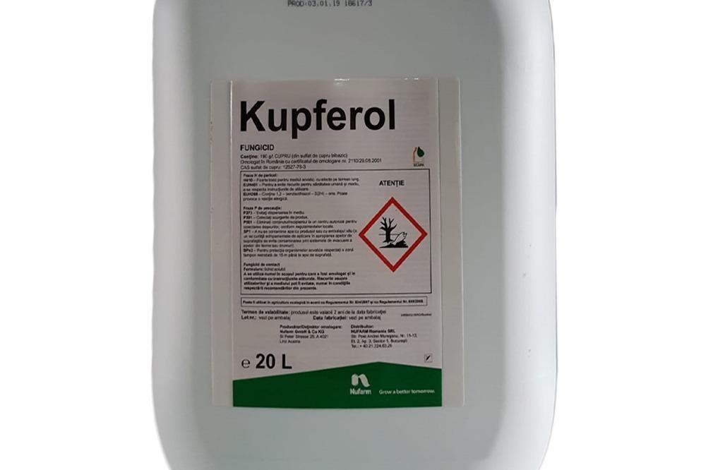 KUPFEROL, cuprul ce le vine plantelor in ajutor