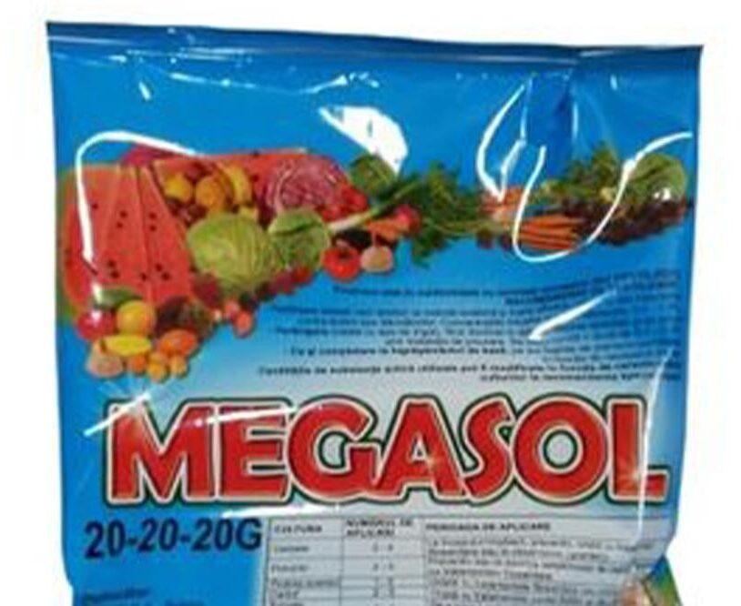 MEGASOL 20-20-20, pentru recolte de calitate!