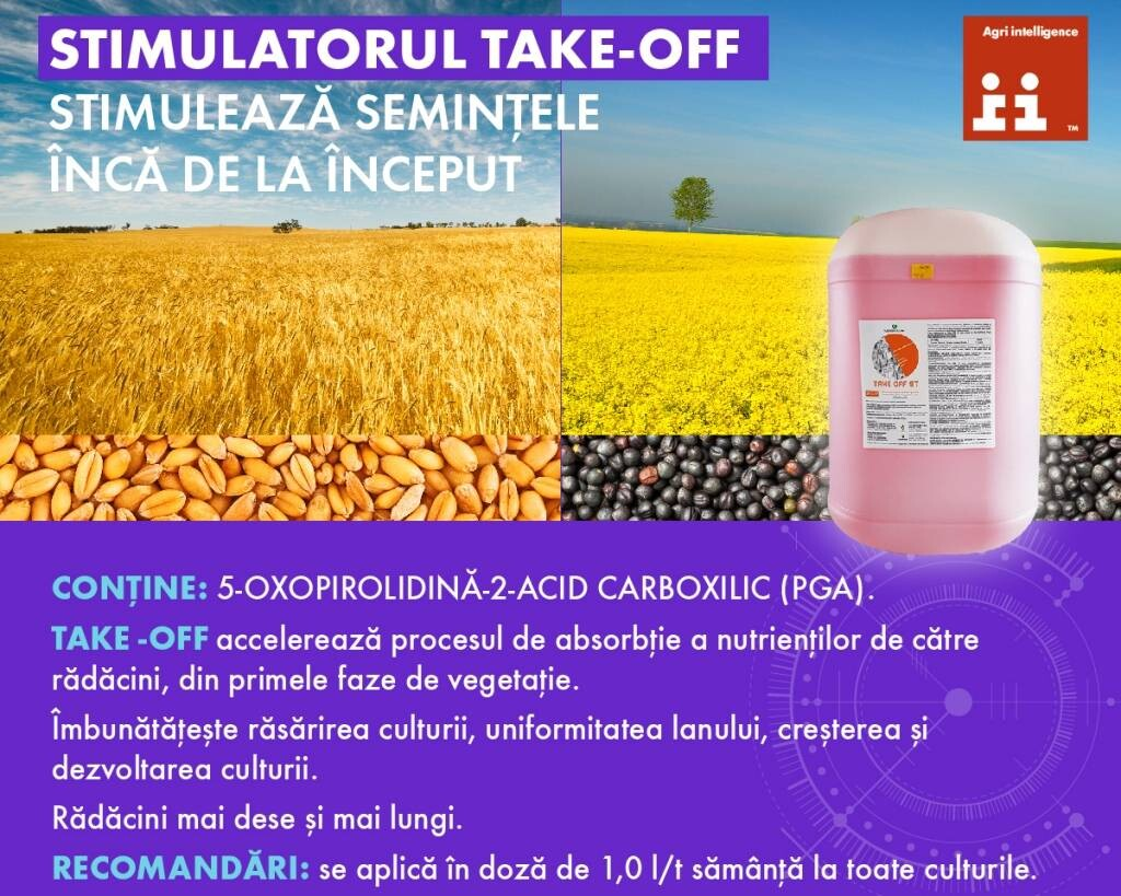 Stimulantul metabolic TAKE-OFF ST