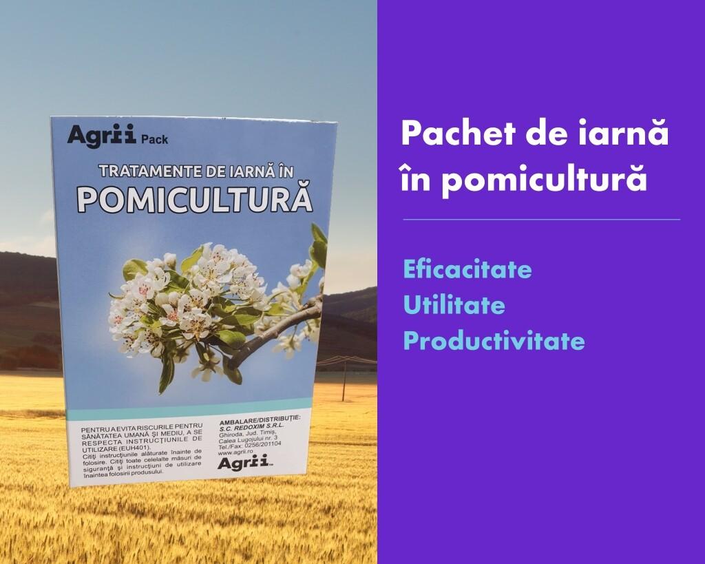 Pachet de iarna in pomicultura: eficacitate, utilitate, productivitate