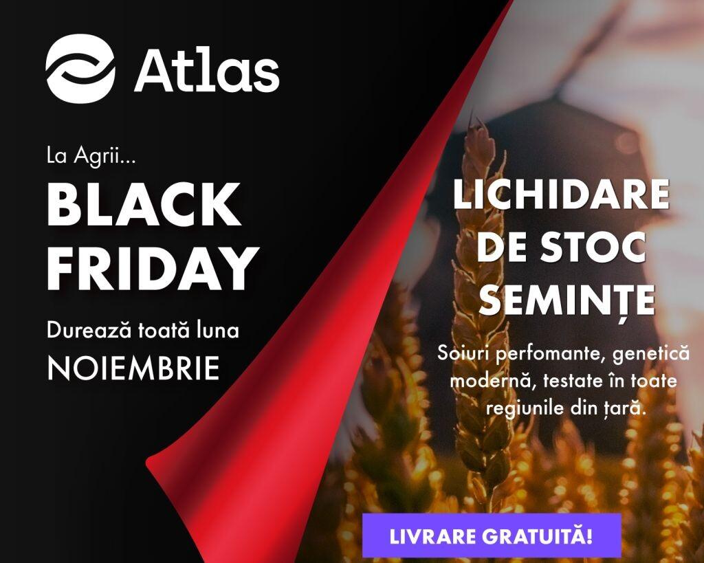 La Agrii, Black Friday dureaza toata luna noiembrie!
