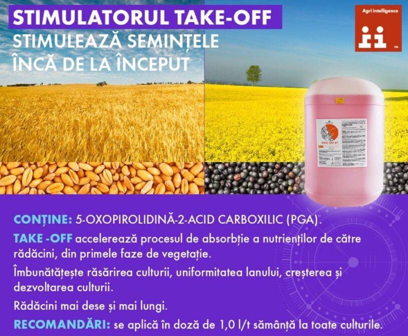 TAKE-OFF ST – solutia eficienta din portofoliul de produse Agrii!