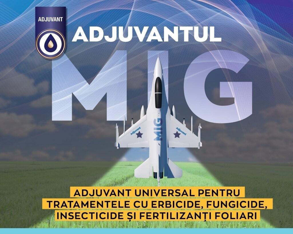 MIG, adjuvantul universal pentru tratamentele cu produsele de protectia plantelor