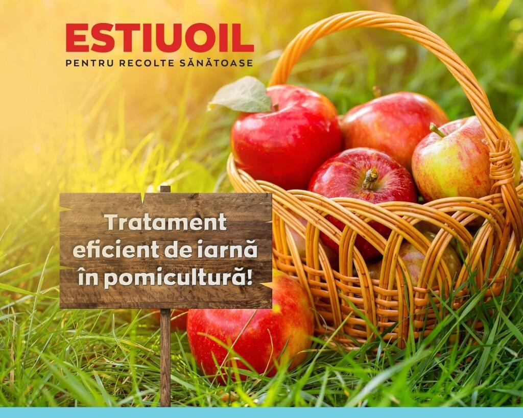 Utilizati ESTIUOIL pentru tratamentele de iarna in livezi!