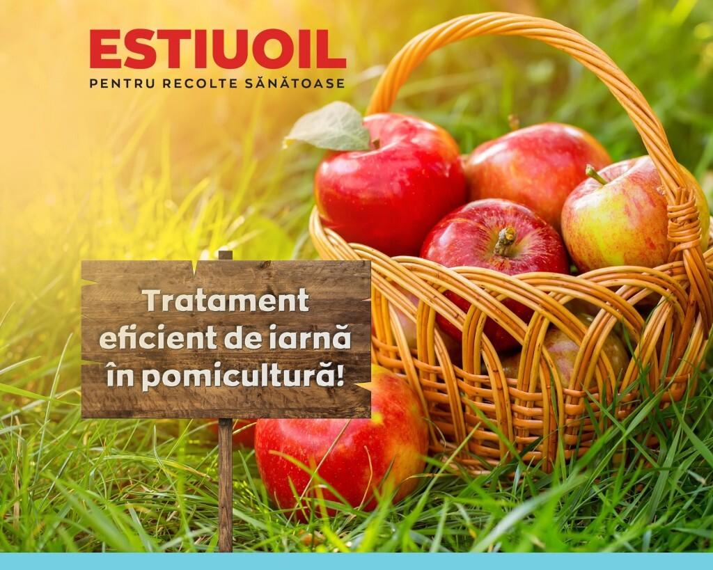 ESTIUOIL - insecticid recomandat de Agrii pentru tratamentele de iarna in livezi