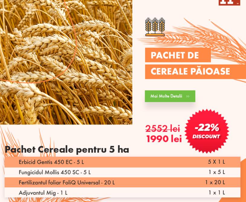 Pachet de cereale paioase