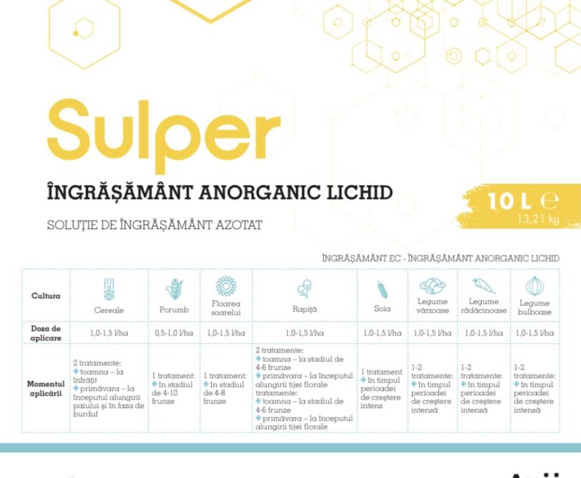 SULPER, un produs la SUPERLATIV