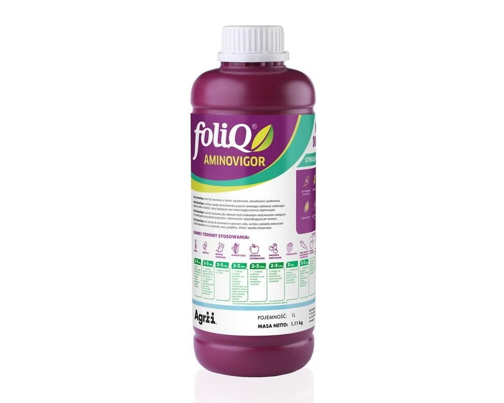 FoliQ Aminovigor: creste rezistenta plantelor la anumiti factori de stres!