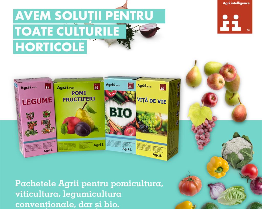 In fitofarmaciile Agrii, gasiti pachete pentru toate culturile horticole!